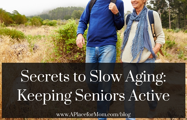 4 Secrets to Slow Aging: Keeping Seniors Active