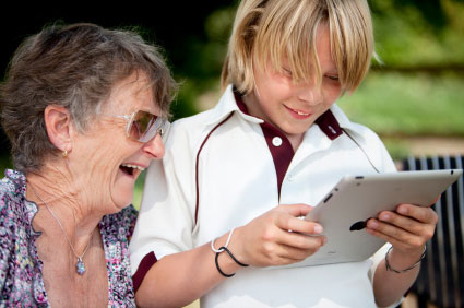 iPads are Great for Memory Care Residents