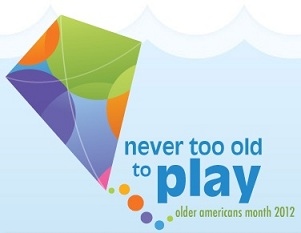Never Too Old to Play logo