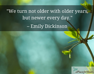 We Turn Not Older with Older Years...