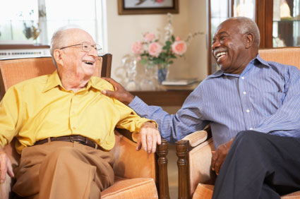 Seniors get happier with age