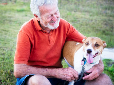Dogs can be trained to detect cancer