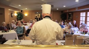 Food Lecture at Assisted Living