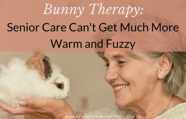 Bunny Therapy: Senior Care Can't Get Much More Warm and Fuzzy