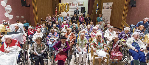Guinness Book of World Records: Largest Group of Centenarians