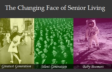 Iconic Images of Greatest Generation, Silent Genration, and Boomers