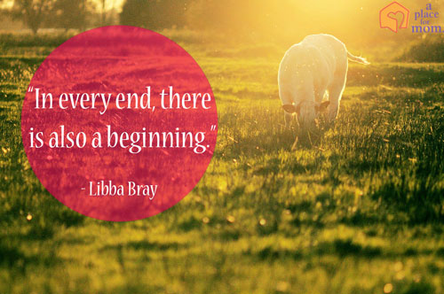 In every end, there is also a beginning