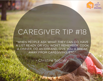 Caregiver Tip from A Place for Mom