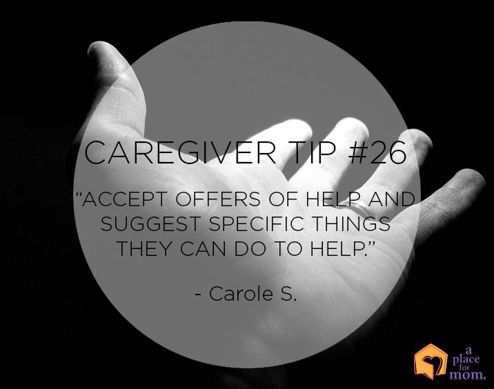 A Place for Mom Caregiver Tip 26