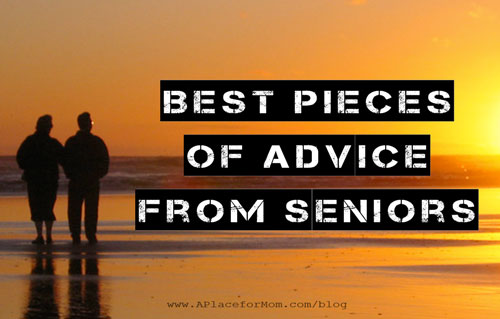 Best Pieces of Advice from Seniors