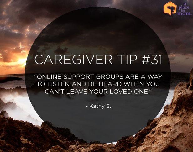 Caregiver Tip #31