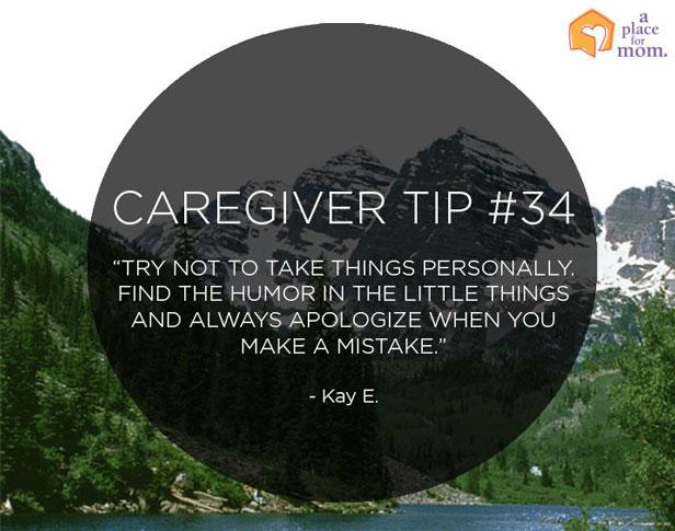 Caregiver Tip #34