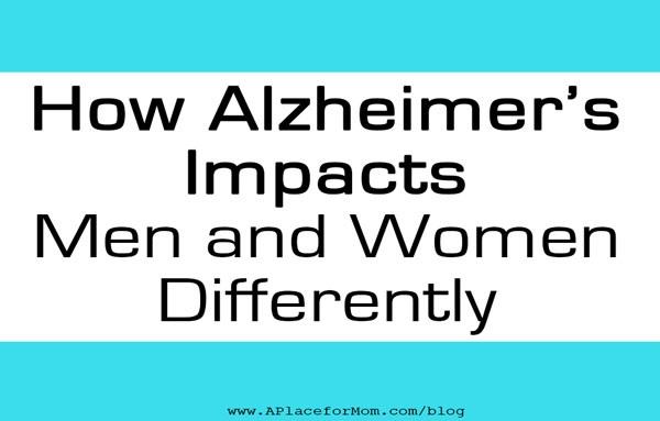 Men, Women, and Alzheimer's