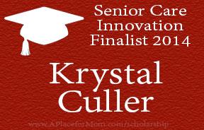 2014 Senior Care Innovation Scholarship Finalist Krystal Culler