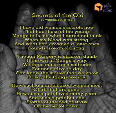 Secrets of the Old by William Butler Yeats