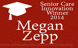 Senior Care Innovation Winner 2014 Megan Zepp