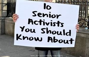 10 Senior Activists You Should Know About