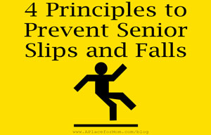 4 Principles to Prevent Senior Slips and Falls