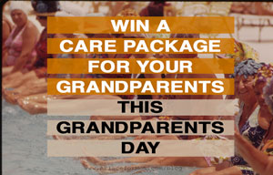 Win a Care Package for Your Grandparents This Grandparents Day