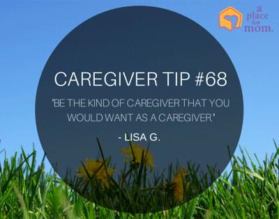 Caregiver Tip #68
