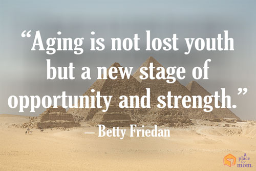 Betty Friedan Quote