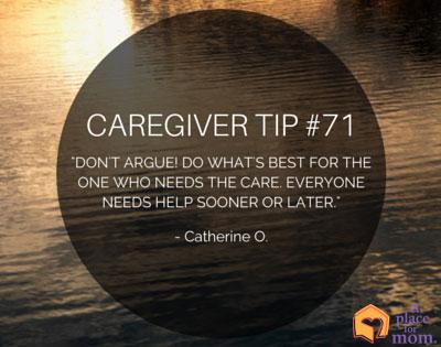 Caregiver Tip #71