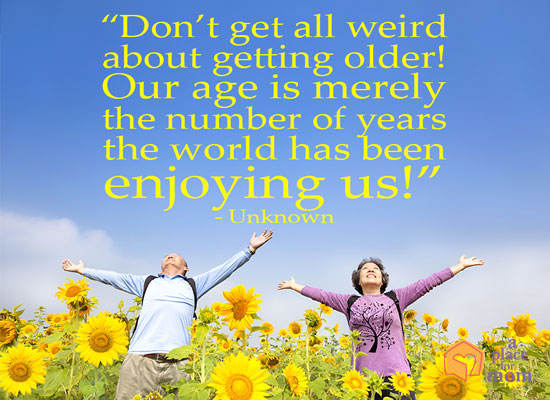 Quote About Getting Older