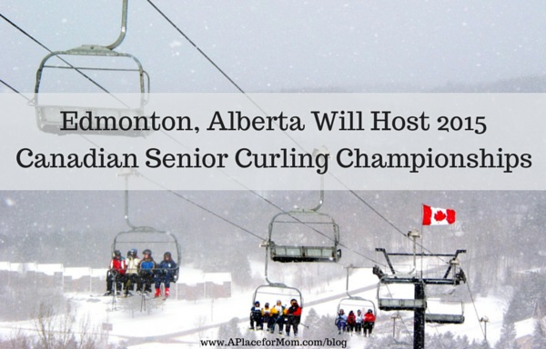 Edmonton, Alberta Will Host 2015 Canadian Senior Curling Championships