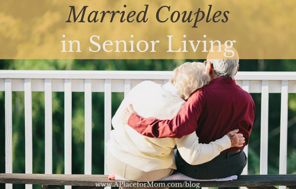 Married Couples in Senior Living