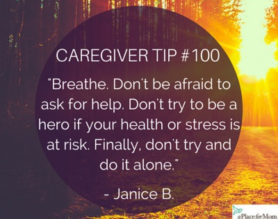 Caregiver Tip #100