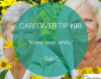 Caregiver Tip #98
