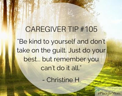 Caregiver Tip #105