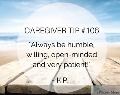 Caregiver Tip #106