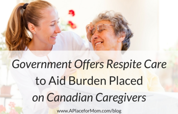 Government Offers Respite Care to Aid Burden Placed on Canadian Caregivers