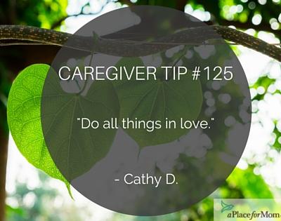 Caregiver Tip #125