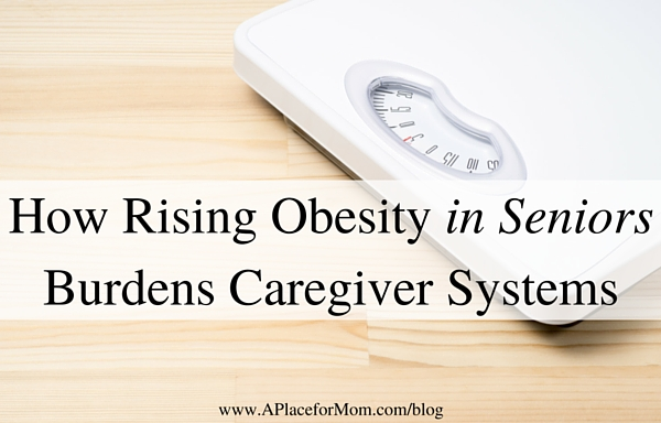 How Rising Obesity in Seniors Burdens Caregiver Systems