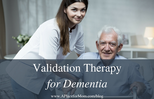 Validation Therapy for Dementia