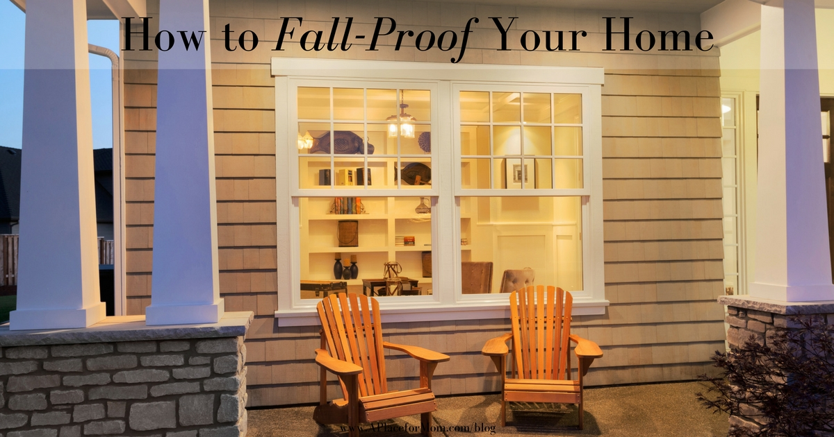 How to Fall-Proof Your Home