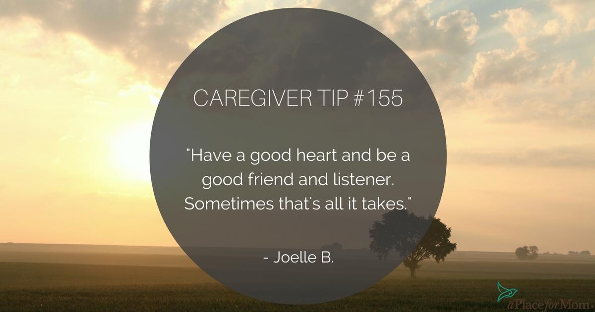 Caregiver Tip #155