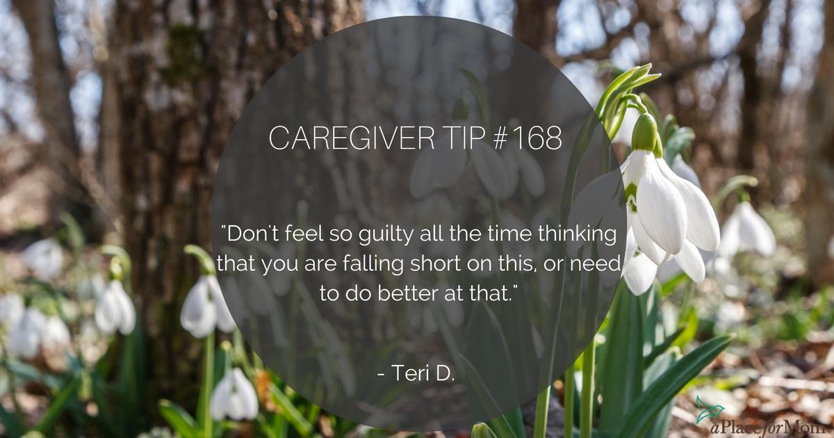Caregiver Tip #168