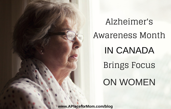 Alzheimer's Awareness Month In Canada Brings Focus On Women